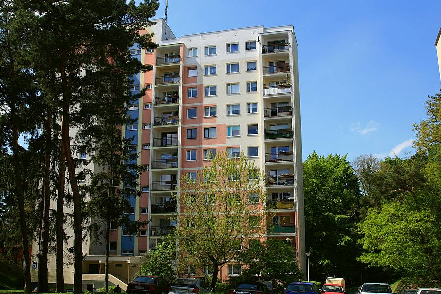 Budynek mieszkalny przy ul.Kujawskiej